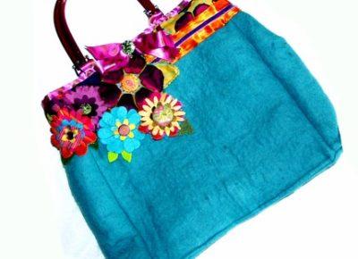 Handmade Bags Blue